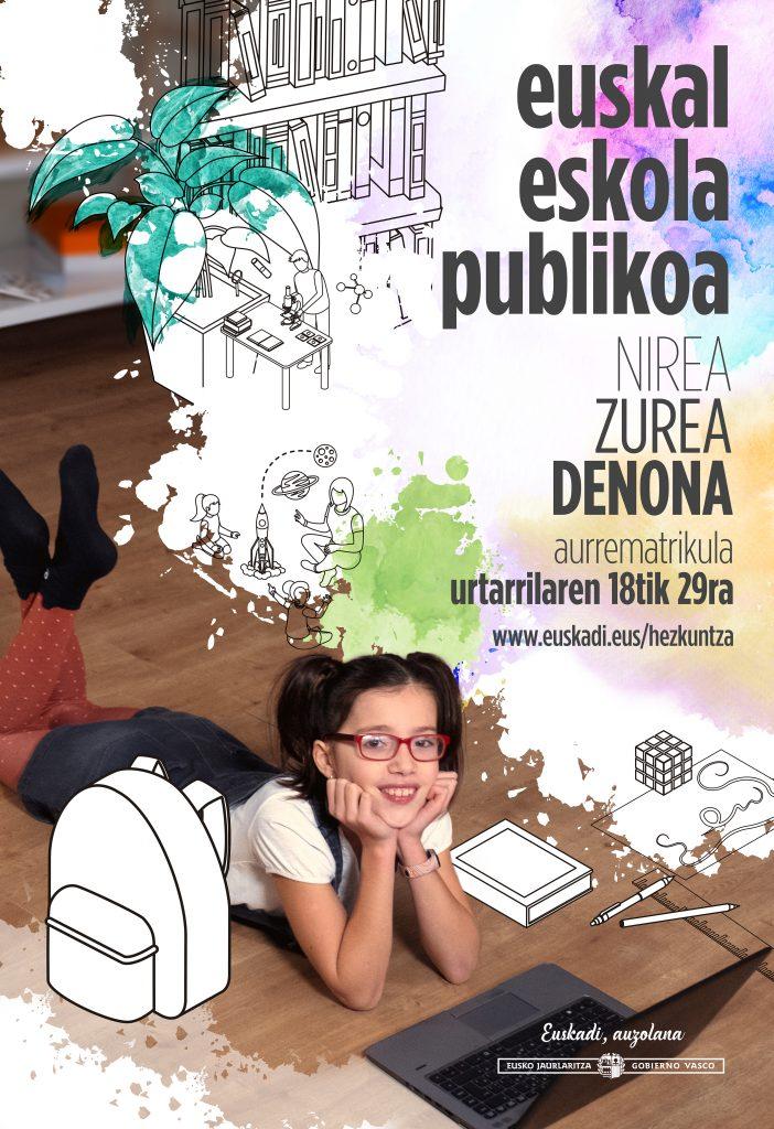 Matrikula zaitez Euskal Eskola Publikoan